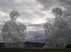 Yorkshire Sculpture Park - Wakefield (JauntyJane) Tags: wakefield sculptures westyorkshire yorkshiresculpturepark cloudyday stormyday yahoo:yourpictures=sculptures