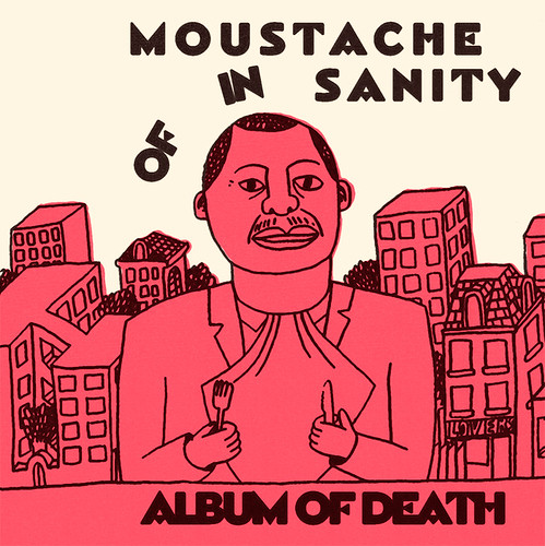 Moustache of Insanity Album cover
