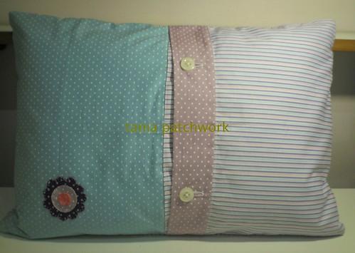 Travesseiro Almofada Bebê  ( o outro lado ) by tania patchwork