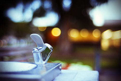 50 days of 50mm - #4/50 - Drinking Fountain in the Park