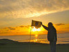 Ballybunion Cashen Course Sunset
