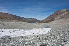 Glacier de Cheilon and Lac des Dix Photo