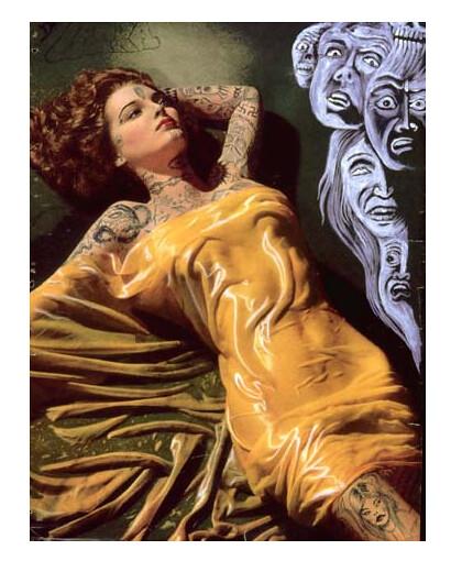 Untitled (vestido amarillo), 2004