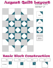 Wondering what to do with all of those blocks? (KMQuilts) Tags: swap block patchworkquilt nubees freequiltpattern