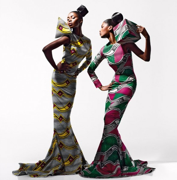 fabric from Vlisco - 8