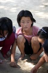 Girls in the park - DPRK, North Korea (Joseph A Ferris III) Tags: park girls game northkorea dprk kaeson