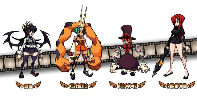 Skullgirls for PS3 (PSN): Character Roster