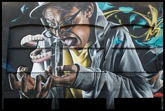 Smug One (Romany WG) Tags: street urban art festival bristol one graffiti seenoevil smug photorealism