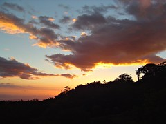 Sunset over Monteverde