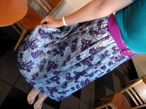 Skirt Vintage Thrifted Savers