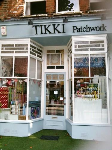 Tikki Patwork in Kew
