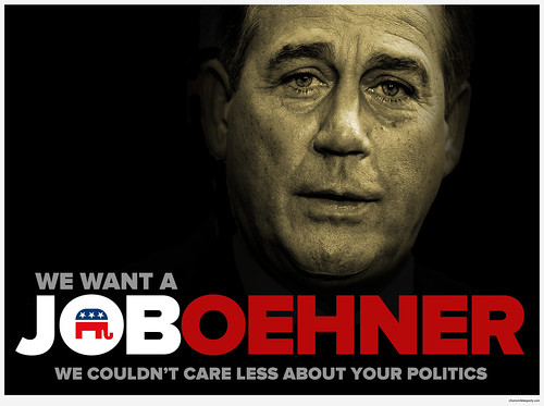 We Want a Job, Boehner