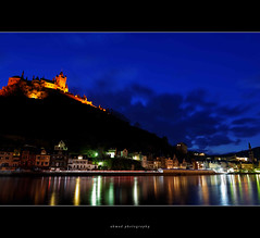 Cochem Castle (Mirza Ahmad Photography) Tags: reflection castle tourism river germany town long exposure king nine ruin vine tourist medieval grapes imperial konrad years ahmad cochem mosel mirza reichburg