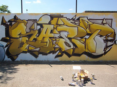 SART (Sart!!) Tags: summer green beer yellow writing graffiti catanzaro mirto 2011 graffitiwriting sartgraffiti