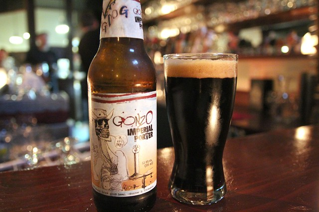 Monk's Kettle and Gonzo Porter by Caroline on Crack
