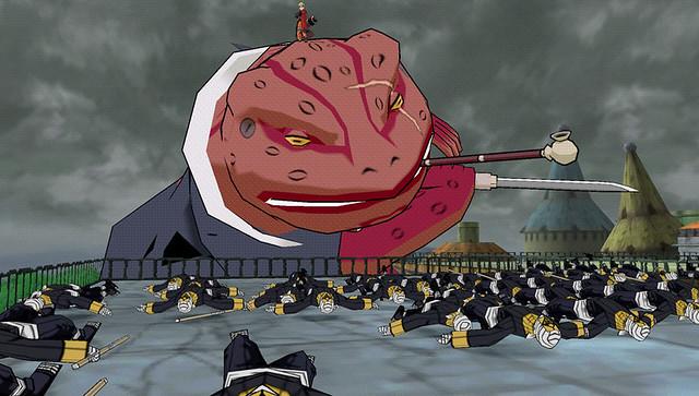 Naruto Shippuden: Ultimate Ninja Impact - Gamabunta right cut