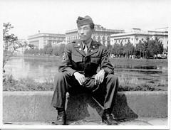Postwar Japan Tokyo (Mustang Koji) Tags: bw japan tokyo  g2 yokohama language mis postwar occupation detachment  atis 166th