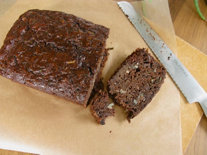 chocolate zucchini cake 003