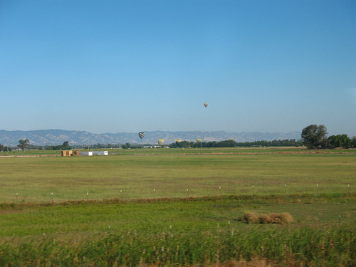 Hot Air Balloons near Davis, CA
