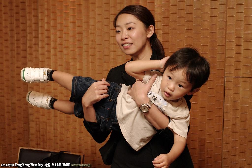 [香港] 來去吃好料之松菱日本料理鐵板燒 (DA35) 可愛小孩&富士X100試玩 (圖