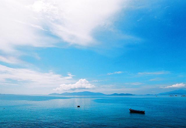 Biển Nha Trang những ngày đầu Thu