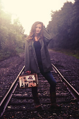 30/52 Off to the army (just_makayla) Tags: railroad girl army jacket tones 52weeks justmakayla
