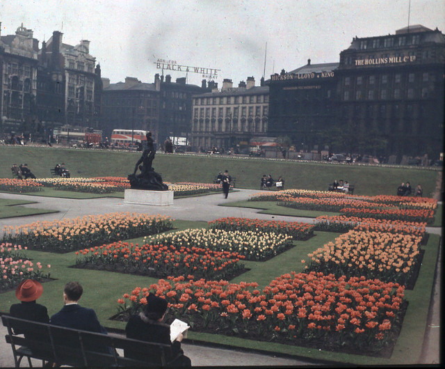Before the Storm. Piccadilly Gardens 1940