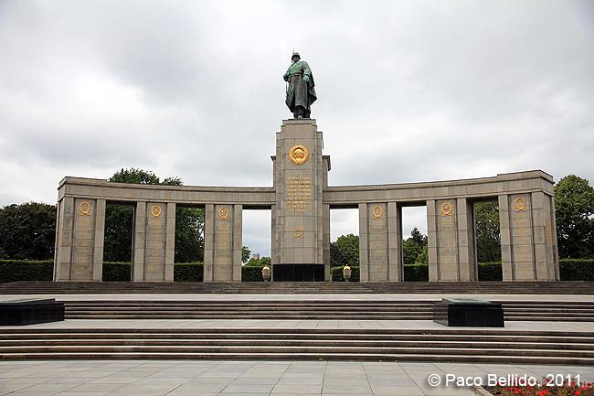 Berlín - Sowjetisches Ehrenmal