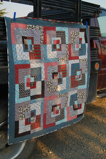 """If it's a boy"" quilt"
