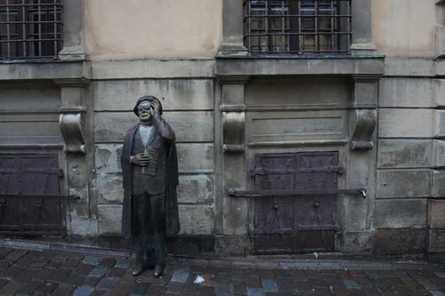Evert Taubeの像