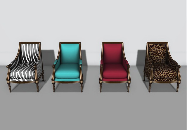 75 Linde Chairs w/5 Animated Sits