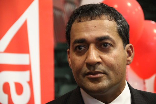 New Alberta Liberal Party leader Raj Sherman