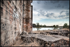 Reclamation... (Keith Chastain) Tags: water clouds merced hdr photomatrix hdrphotography keithchastain