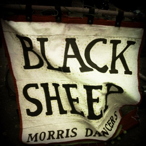 The Flag of the Black Sheep Morris Dancers