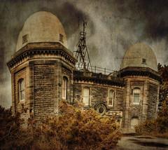 Bidston Observatory (Richard Deane) Tags: panorama texture photoshop observatory hdr wirral topaz bidston photomatix