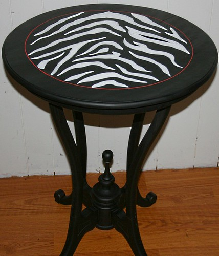 Accent/Pedestal Table by Rick Cheadle Art and Designs