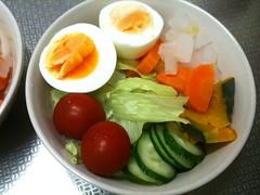朝食サラダ(2011/9/13)