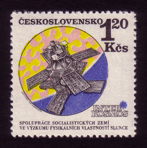 Czech stamps: Solar research