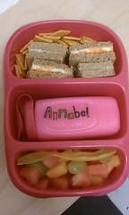 pre-school lunch!