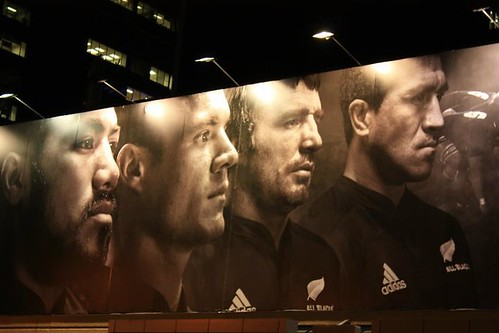 All Blacks Billboard by Julie Johnson