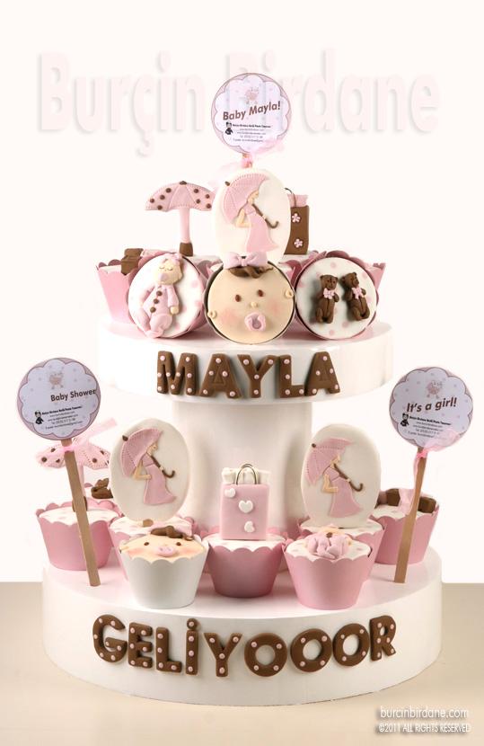 Baby Shower Cupcake Standi 1