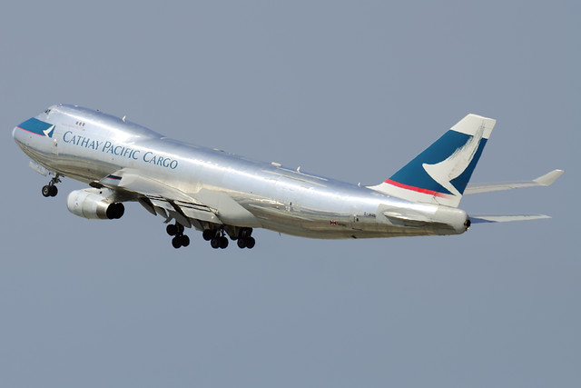 Cathay Pacific Airways Cargo Boeing 747-467F/SCD (B-HUL)