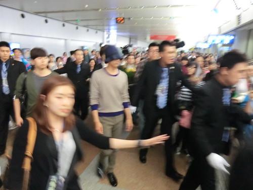 Won Bin @ BeiJing airport