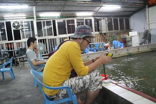 [台湾2.5] エビ釣り開始