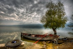 Beauty in mess (Nejdet Duzen) Tags: trip travel cloud lake turkey boat fishing trkiye sandal bursa bulut gl turkei seyahat uluabat balklk glyaz saariysqualitypictures mygearandme ringexcellence