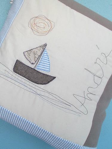 Almofada Barco