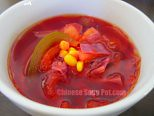 Homemade V8 Beet Soup