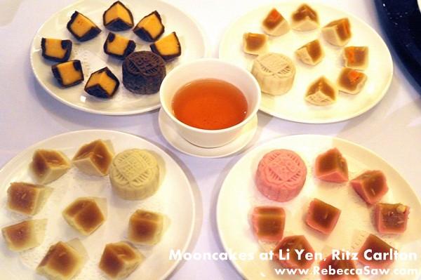 Li Yen, Ritz Carlton - Mooncakes & dim sum-06