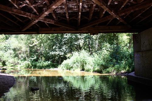 Under-bridge-water