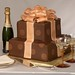 This contemporary design may be selected for your groom's cake or for special occasions.